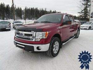 Red 2014 Ford F-150 XLT XTR SuperCrew - 6.5' Box - 44,039 KMs