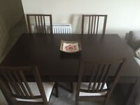 Great condition, 3 year old IKEA dining table