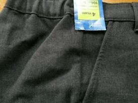 School trouser age 4 m+s