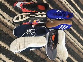 Nike & adidas trainers and blades