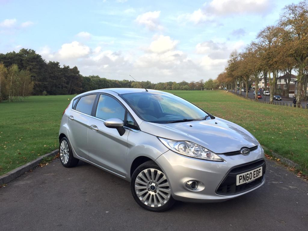 2010/60 FORD FIESTA TITANIUM 1.4 PETROL, MANUAL, 5-DOOR ***GENUINE 48,000 MILES***MOT 25th JULY 2018