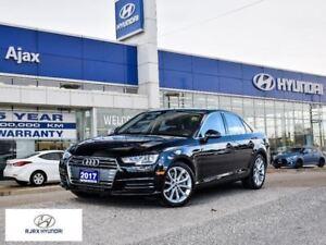 2017 Audi A4 2.0T Progressiv Sunroof Navigation Apple CarPlay