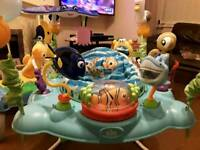 Bright Starts Finding Nemo Jumperoo Excellent Condition