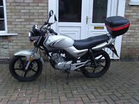 Yamaha YBR125 Fuel injection 2007 new M.O.T.