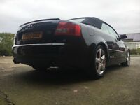 Audi A4 convertible LOW MILAGE