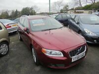 VOLVO V70 2400cc SE LUX D5 AWD AUTOMATIC TURBO DIESEL 5 DOOR ESTATE 2008-58,