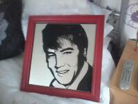 Elvis mirrored picture