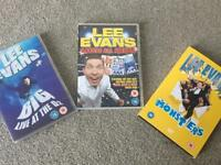 Lee Evans stand up comedy tours x3