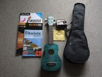 Ukulele and accessories for sale