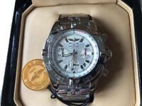 Swiss Brietling Chronomat Chronograph Watch White