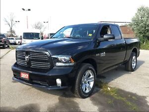 2017 Ram 1500 SPORT**8.4 TOUCHSCREEN**BUCKET SEATS**BLUETOOTH**
