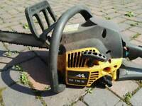 McCulloch petrol chainsaw