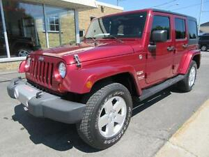 2012 Jeep Wrangler Unlimited Sahara *2 TOITS*
