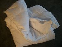 100% White Duck Feather Double Duvet