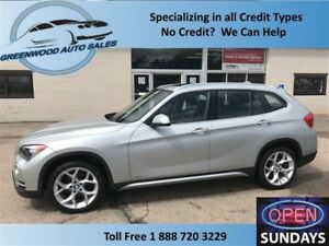 2014 BMW X1 AWD! PANO ROOF! NICE UNIT! CALL NOW!