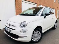 2017 17 Fiat 500 1.2 Petrol Pop*Only 50 Miles (Delivery Mileage) Cat S Repaired n corsa polo ka mini