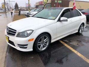 2014 Mercedes-Benz C-Class 300, Automatic, Navigation, Leather,