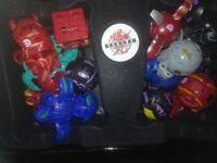 Bakugan figures 12 in box