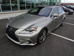 2015 Lexus IS 250 F SPORT 3 VERY RARE-FULLY EQUIPPED-NAVI-MARK L