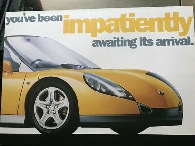 Car Brochure - 1997 Renault Sport Spider - UK, used for sale  Shipping to Nigeria
