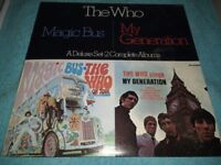 The Who ‎– Magic Bus / The Who Sings My Generation - Double Vinyl L.P - USA - 19