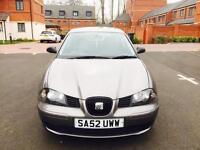 SEAT IBIZA S 1.2 PATROL MANUAL 5 DOORS WITH VERY LOW MILEAGE