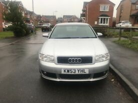 Audi A4 2004 1 owner from new 113k millage