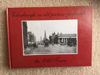 Edinburgh in Old Picture Postcards - the Old Town by Donald Lingren (hard back) Very Good Condition