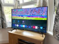 """ALMOST NEW, SAMSUNG 50"""" QLED 4K ULTRA HD SMART TV,NO MARKS OR SCRATCHES £500 NO OFFERS CAN DELIVER"""