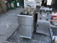 CATERING COMMERCIAL SERVICED GAS PITCO FRYER CATERING COMMERCIAL CAFE KEBAB CHICKEN RESTAURANT BAR