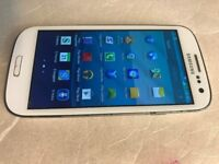 Samsung Galaxy S3, GT-I9300, 16gb White EE netowrk smartphone Mobile, excellent condition