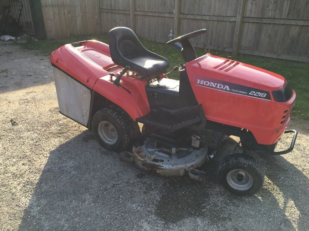 Honda 2218 42 Quot Deck 18hp V Twin Ride Sit On Lawn Mower
