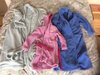 Men's, women's & child's bathrobes