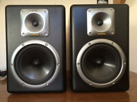 Tapco S8 Studio Monitors includes all cables, spare fuses and manual. COLLECTION ONLY
