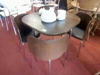 Dining table & 4 chairs tcl 17642