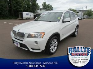 2011 BMW X3 xDrive28i! Heated! Leather! Sunroof!