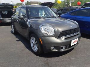 2013 MINI Cooper Countryman S- SUNROOF, LEATHER INTERIOR, BLUETO
