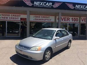 2001 Honda Civic LX-G AUT0MATIC A/C ABS