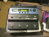 TC Electronics Voice Live 1 with Harmony Control Guitar and Expression Pedal