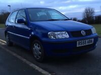 2000 Volkswagen Polo 1.0 E. Full MOT March 2019