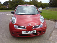 NISSAN MICRA 1.3 PUREDRIVE 2010 ONLY 50,000 MILES