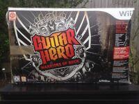 Nintendo Wii Guitar Hero Warriors of rock