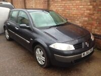 Breaking 2006 Renault Megane 5dr all doors/tailgate/bumpers/bonnet/alloys for sale