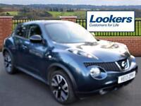 Nissan Juke DCI N-TEC (blue) 2013-07-17