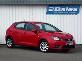 Seat Ibiza 1.6 TDI CR SE 5Dr Hatchback Diesel (red (emocion)) 2014