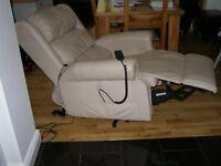 Recliner Cream Armchair