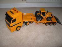 JCB HEAVY LOAD TRANSPORTER AND TRACTOR