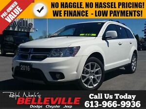 2016 Dodge Journey Limited Model With - DVD - Sunroof - Back UP