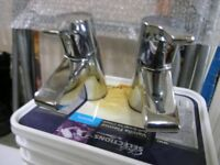 Pair Of Ideal Standard Unused Basin Taps Weymouth Free Local Delivery
