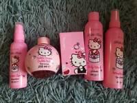 Hello Kitty gift set.